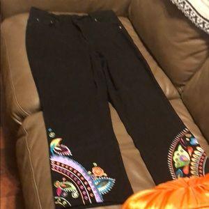 Diane Gilman black jeans